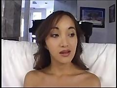 Katsuni Sucks That Cock Down Her Throat And Fucks Black Man