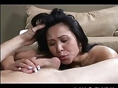 Kitty Langdon the hot cock sucking asian MILF