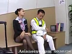 Maria Ozawa Slutty Asian Stewardess Gives Good..