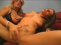 Young Dominka gets nasty with dirty Karola