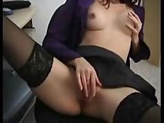 Redhead Erika Strips Down And Plays With Her Pussy On Cam