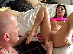 Roxy Jezel Stretches Her Brown Hole