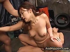 Yuka Matsushita Fucked And Fingered By Two Guys 17 By Assnippon