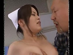 Yuki mana japanese nurse gets cum facial