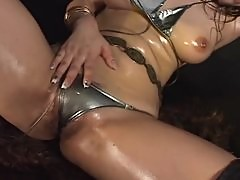 Japanese Oily Body Erotica Dance 4 Mana Sugiura