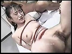 Bondage - Asian Tied And Gangbanged