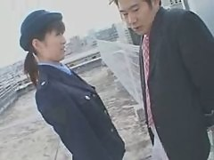 japanese female cop blowjob