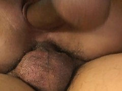 Threesome Action With Double Penetration For This Asian