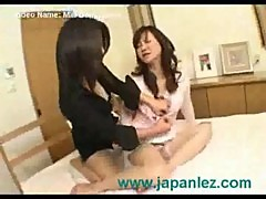 Milf dominates her older friend in lesbian video