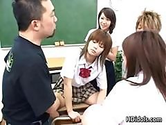 Wild Asian Teens Fucking At School Part6