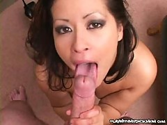 Misty mendez - cock sucking milf on cam