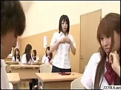 Japanese teen schoolgirl forced to partic ...