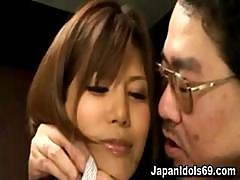 Sexy Asian Secretary Gets Hot