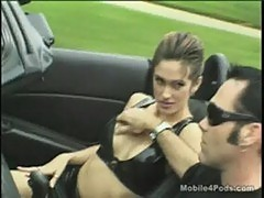 Bad girl dalia goes down while cruising in la