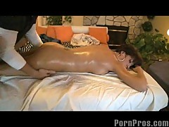 Chinese orgasms on massage table