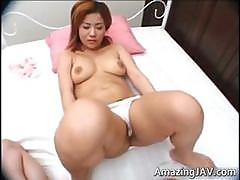 Busty Japanese Redhead Teen Fucking Part4