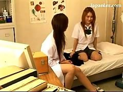 Red Head Schoolgirl Getting Seduced Nipples..