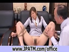 20-office sex japan - japanese secretary fucked in office