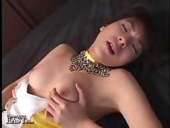 Japanese Girl Is Horny And Does Some Solo Action Masturbation With Vibrator