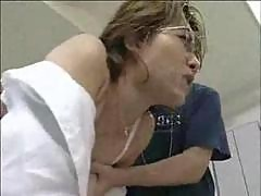 Japanese Teacher Fucked Hard By Students In School