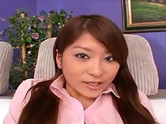 Asian Eye Candy Gets Her Bush Stretched