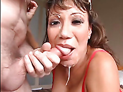 Ava Devine gets a cock forced down h...